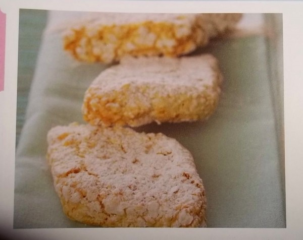 Italian ricciaretti (from 1001 cupcakes, cookies & other tempting treats. ed Susanna Tee; pub. Parragon Books, 2009)