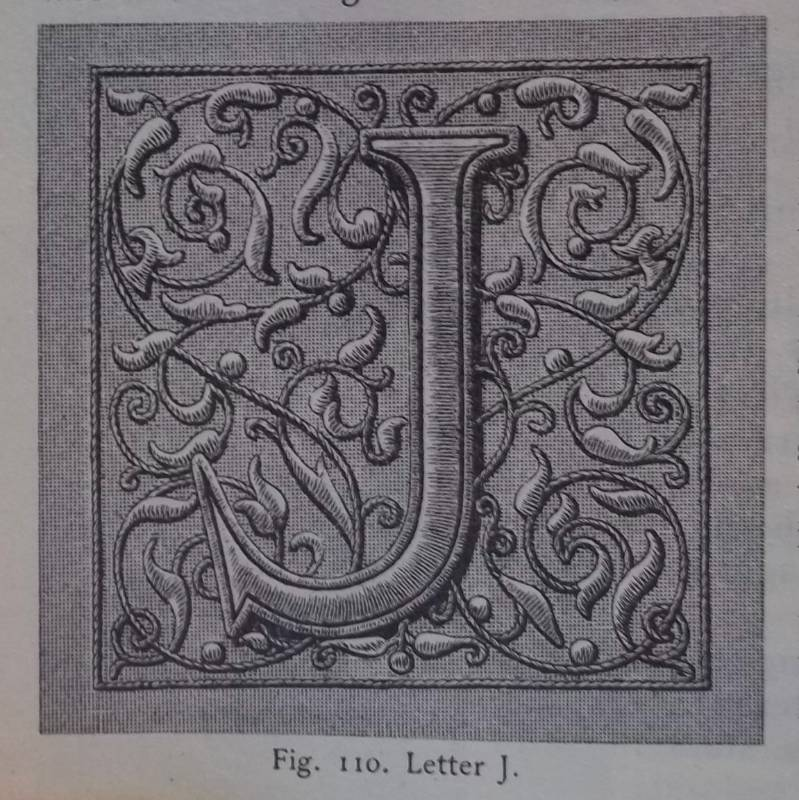 Letter J (p.58 of Encyclopedia of Needlework by Thérèse de Dillmont; early C20th)
