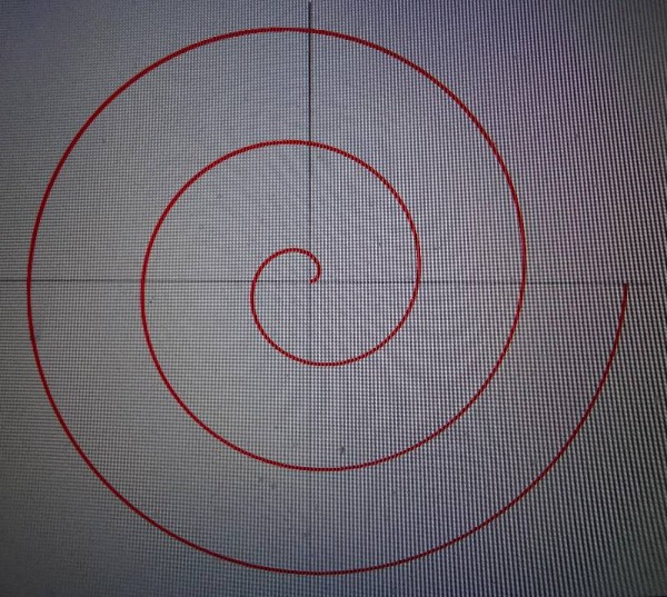 Archimedean spiral (thanks to Wikipedia)