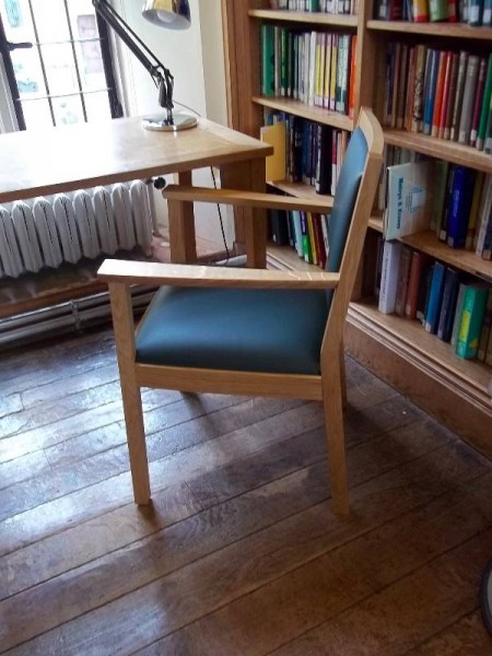 Balliol College Library: The Old Library with the new chair (2013)