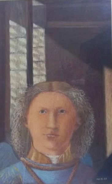 Angel by Clare Belfield (copied in pastel from Piero della Francesca's Madonna di Senigallia in Galleria Nazionale delle Marche, Urbino)