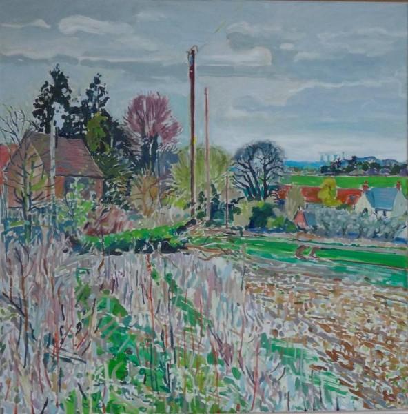 Martin Beek: Ipsden looking towards Ipsden farm