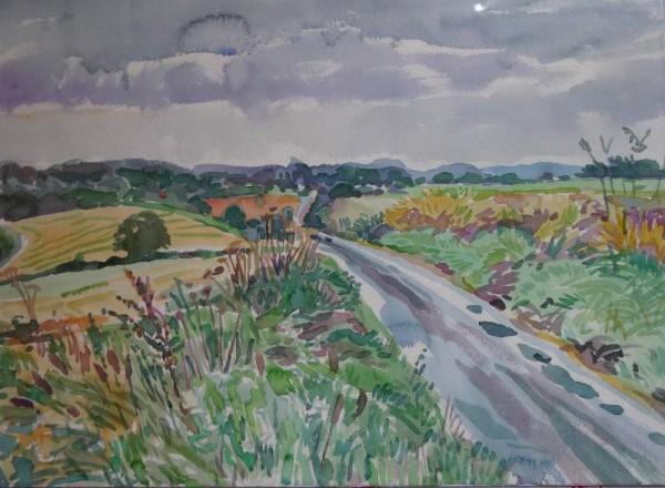 Martin Beek: Ipsden (watercolour)