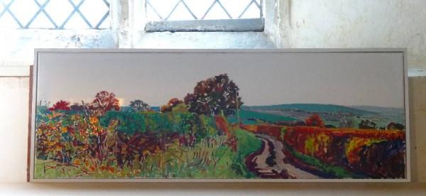 Martin Beek: Ipsden (oilon canvas)