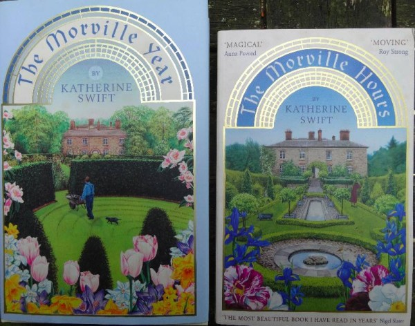 Katherine Swift: The  Morville Hours (Bloomsbury, 2008); The Morville Year (Bloomsbury 2011)