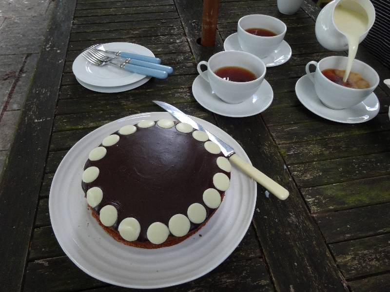 Milk Chocolate Cake Recipes Uk: Milk Chocolate Cake With Chocolate Fudge Icing: Possibly