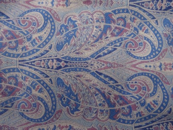 Vintage Liberty twill fabric in wool/cotton mix.