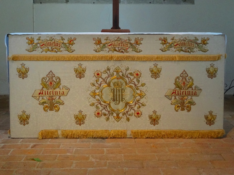North Stoke Church Furnishings The White Altar Frontal
