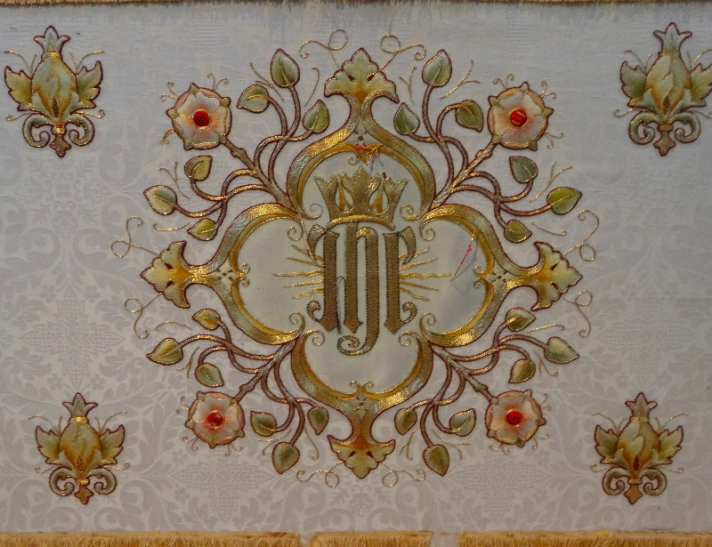 North Stoke Church Furnishings The White Altar Frontal Addison