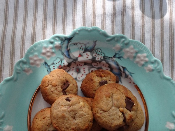 The church biscuit: 58. Peanut butter and chocolate chip biscuits