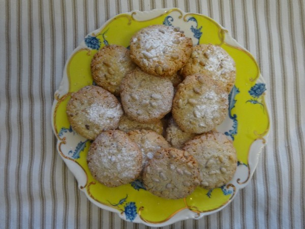 Sally Clarke's Pine nut and hazelnut macaroons