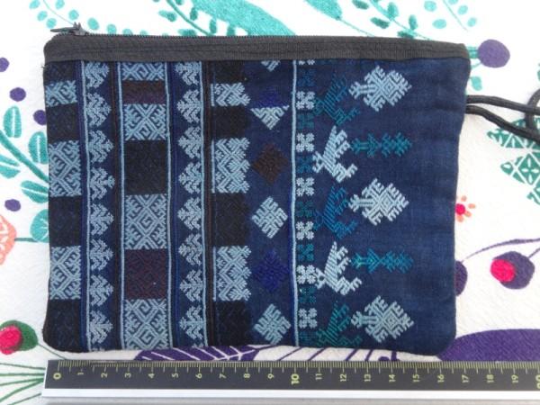 Red Dao zipped purse: side 2