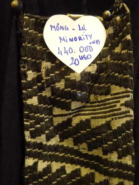 Vietnamese embroidery by one of the Mong tribes