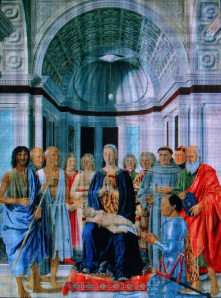 Piero della Francesca's Montefeltro altarpiece of Madonna and Child with Saints