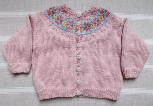 My favourite Debbie Bliss baby pattern - cardigan with Fair Isle ...