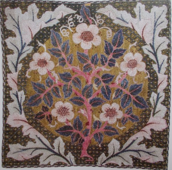 May Morris Re Evaluated Addison Embroidery At The Vicarage