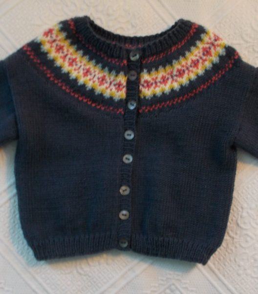 My favourite Debbie Bliss baby pattern – a third cardigan with ...
